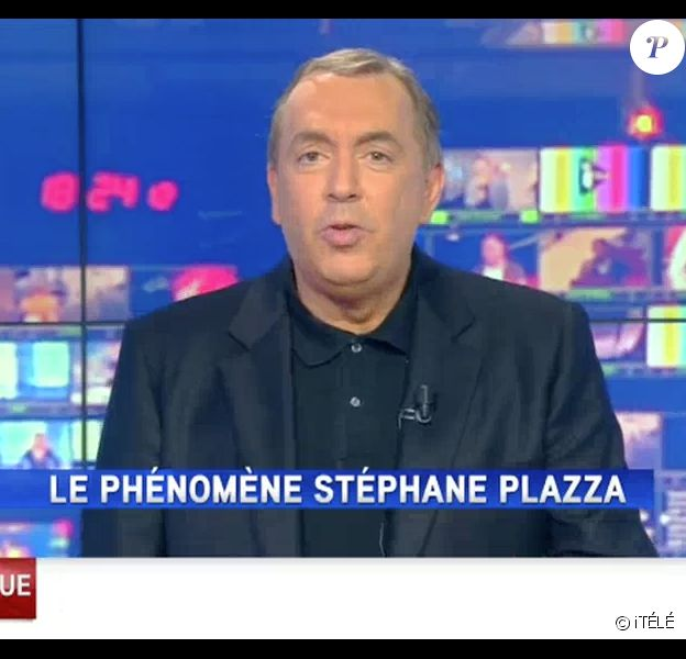 Jean-Marc Morandini lors de sa première sur iTÉLÉ, le 17 octobre 2016.