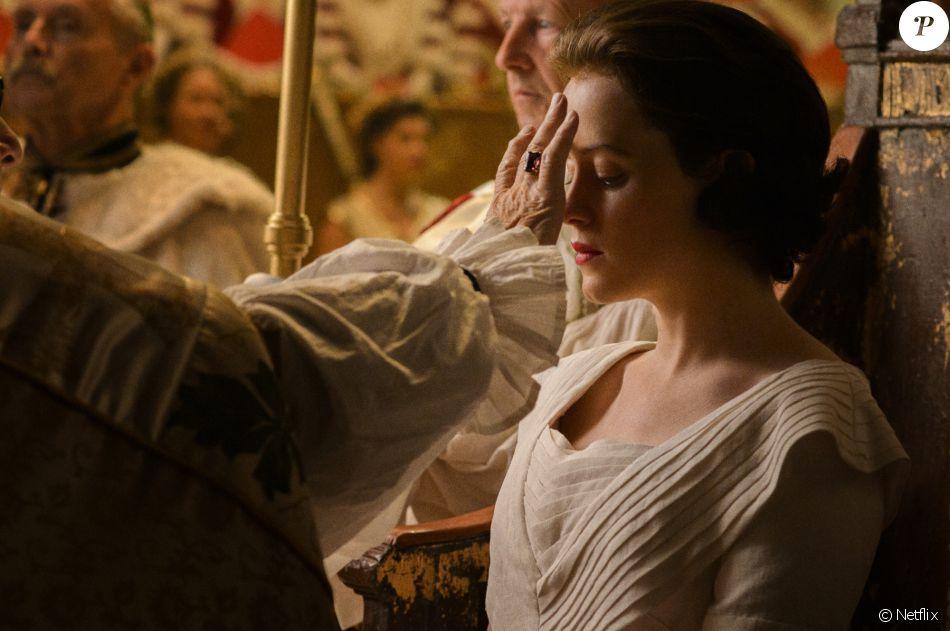 Photo de The Crown, série Netflix sur le règne d'Elisabeth II.
