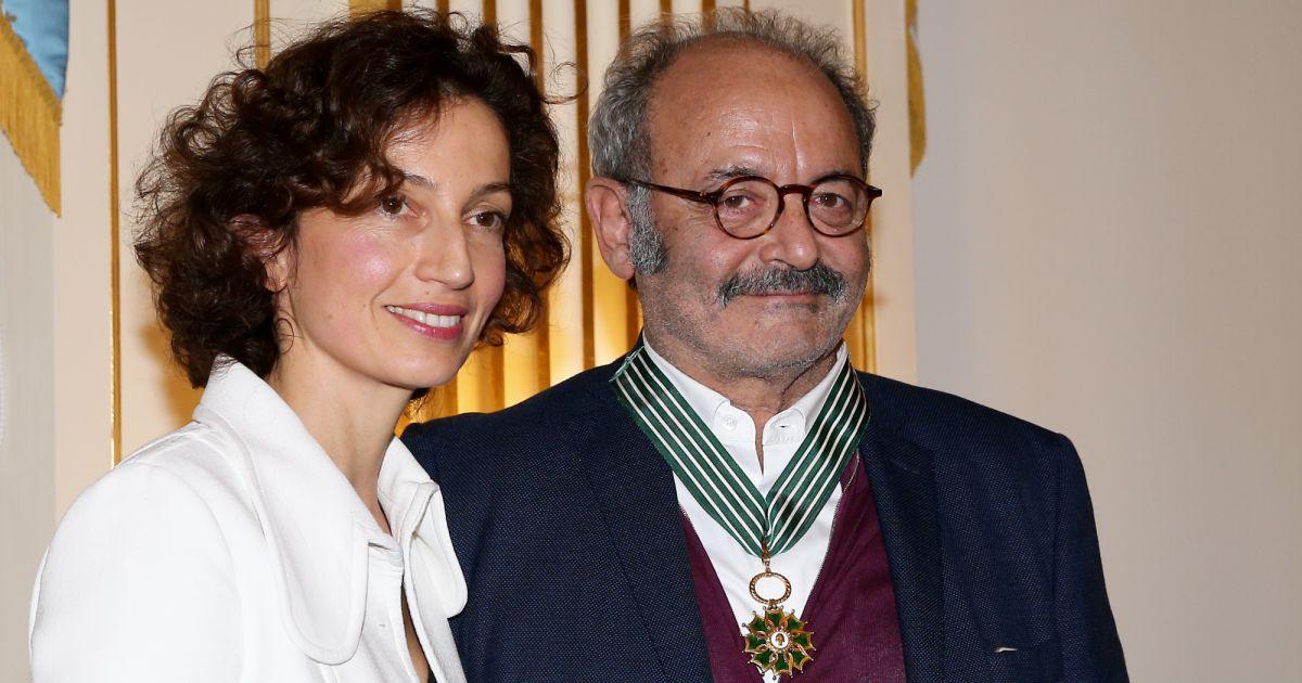 Louis Chedid Et Sa Femme