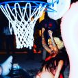 Amber Rose a publié les photos de sa pool-party d'anniversaire sur sa page Instagram. Photo publiée sur Instagram le 24 octobre 2016
