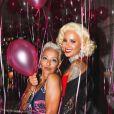 Amber Rose a publié les photos de sa pool-party d'anniversaire sur sa page Instagram. Elle est photographiée ici avec sa mère. Photo publiée sur Instagram le 24 octobre 2016