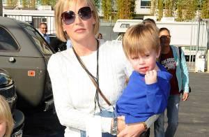 PHOTOS : Sharon Stone, enfin avec ses trois garçons, est une maman... radieuse et comblée !
