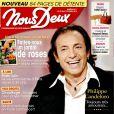 """Philippe Candeloro en couverture de """"Nous Deux"""", en kiosques le 25 octobre 2016."""