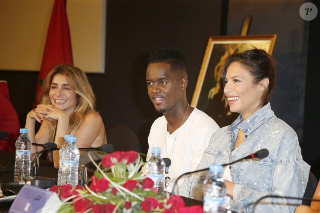 Exclusif - Julie Zenatti , Black M , Zaho - Backstage, balance et conférence de presse du 11ème concert de la Tolérance à Agadir le 22 octobre 2016. Le concert sera diffusé le samedi 5 novembre 2016 à 20h50 sur la chaine W9.