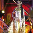 Exclusif - Une danseuse de Richard Orlinski - 11ème concert de la tolérance à Agadir le 22 octobre 2016. Le concert sera diffusé le samedi 5 novembre 2016 à 20h50 sur la chaine W9.