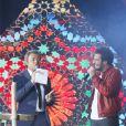 Exclusif - Jérôme Anthony et Amir - 11ème concert de la tolérance à Agadir le 22 octobre 2016. Le concert sera diffusé le samedi 5 novembre 2016 à 20h50 sur la chaine W9.