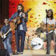 Exclusif - Jérémy Frérot et Florian Delavega - 11ème concert de la tolérance à Agadir le 22 octobre 2016. Le concert sera diffusé le samedi 5 novembre 2016 à 20h50 sur la chaine W9.