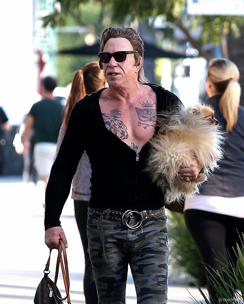 Mickey Rourke : Tatoua...
