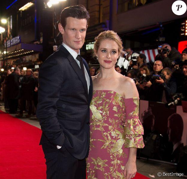 """Matt Smith et Claire Foy - Soirée de présentation de la série """"The Crown"""" à Londres, le 1er novembre 2016."""