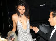 Kendall Jenner sexy et décolletée pour ses 21 ans, Kylie fait le show en résille