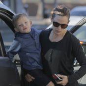 Jennifer Garner au naturel son fils dans les bras, face à son ex Ben Affleck