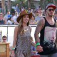Audrina Patridge, Corey Bohan au 2 eme jour du Festival de musique de Coachella a Indio le 13 avril 2013