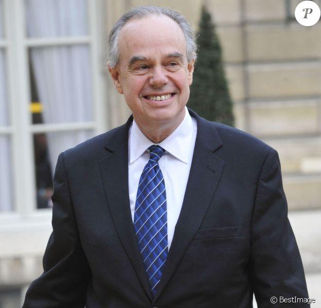 Frédéric Mitterrand participe au premier conseil des ministres du nouveau gouvernement au palais de l'Elysée le 17 novembre 2010.