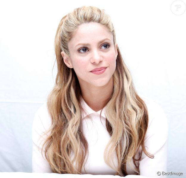 """Shakira en conférence de presse pour le film """"Zootopia"""" à West Hollywood. Le 17 février 2016"""