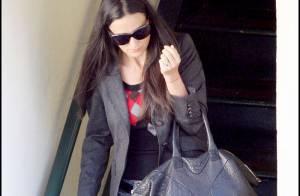 PHOTOS : Demi Moore se fait belle... mais a oublié un détail !