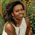 """""""Michelle Obama en couverture de l'édition américaine du magazine """"Vogue"""", édition de décembre 2016"""""""