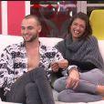 """Bastien et Mélanie - """"Secret Story 10"""" sur NT1, le 15 novembre 2016."""