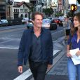 Balade en famille pour Cindy Crawford, son mari Rande Gerber et leur fille Kaia à Los Angeles le 28 juin 2016.  Please pixelate child face prior to publication 6/28/16 Rande Gerber, Cindy Crawford and Kaia Jordan Gerber are seen in Hollywood, CA28/06/2016 - Los Angeles