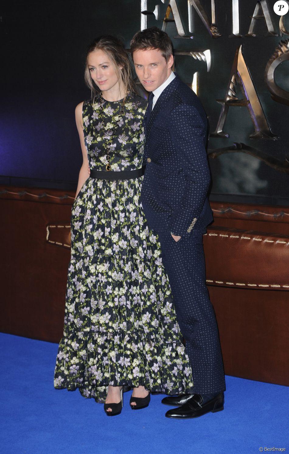 Eddie Redmayne et sa femme Hannah Bagshawe à la première de 'Fantastic Beasts And Where To Find Them' à Londres, le 15 novembre 2016 © Ferdaus Shamim via Zuma/Bestimage