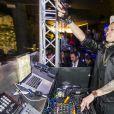 "Taboo a mixe au ""Just Cavalli Cafe"" a Milan. Le 30 mai 2013"
