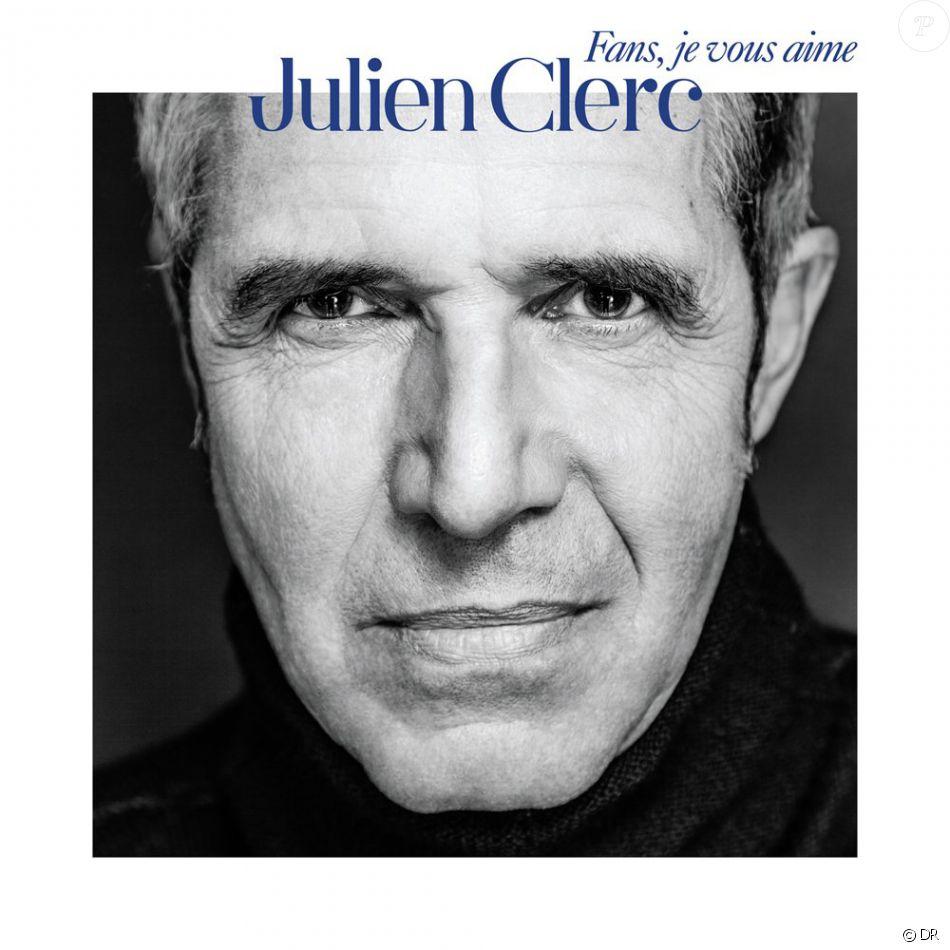 Julien Clerc - Fans, je vous aime - son double best of paru le 18 novembre 2016.