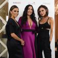 Eva Longoria et Victoria Beckham se retrouvent à Londres pour une nouvelle édition du Global Gift Gala, le 19 novembre 2016.