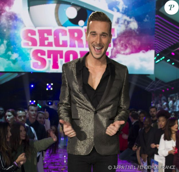 """Julien, gagnant de """"Secret Story 10"""" lors de la finale du 17 novembre 2016 sur NT1."""