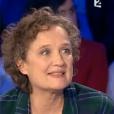 """Corine Marienneau dans """"On n'est pas couché"""" sur France 2, le 12 décembre 2015."""