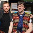Damon Albarn avec Graham Coxon