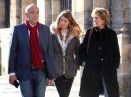 Alain Juppé encaisse la défaite, épaulé par sa femme et ses filles...