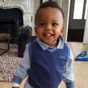 Blaise Matuidi partage une photo à croquer d'Eden, son bébé trop stylé