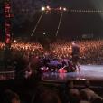 Lisa Skinner est tombé de 5 mètres de hauteur alors qu'elle réalisait une prestation pour le Cirque du Soleil à Brisbane. Photo publiée sur Twitter le 27 novembre 2016