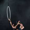 Lisa Skinner lors d'un show pour le Cirque du Soleil. Photo publiée sur sa page Facebook, le 10 avril 2016