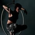 Lisa Skinner lors d'un show pour le Cirque du Soleil. Photo publiée sur sa page Facebook, le 14 février 2016