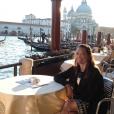 Lisa Skinner en vacances. Photo publiée sur sa page Facebook, le 29 octobre 2014