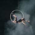 Lisa Skinner lors d'un show pour le Cirque du Soleil. Photo publiée sur sa page Facebook, le 2 avril 2016