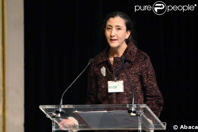 Ingrid Betancourt lors du sommet des Nobel de la paix