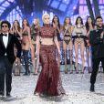 Bruno Mars, Lady Gaga, The Weeknd (Abel Tesfaye) - Défilé Victoria's Secret Paris 2016 au Grand Palais à Paris, le 30 novembre 2016. © Cyril Moreau/Bestimage