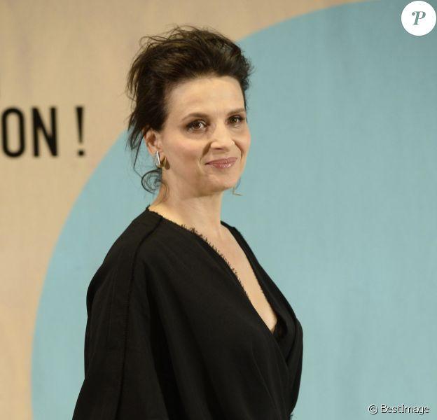 Juliette Binoche lors du photocall de la soirée 'Women in Action' à Madrid le 19 novembre 2016