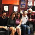 Les acteurs de la série Un, dos, tres se retrouvent pour l'émission El Hormiguero, le 30 novembre 2016