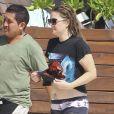 Exclusif - Drew Barrymore au Bikini Bootcamp à l'Amansala Resort. Tulum, Mexique, le 17 novembre 2016.