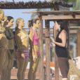 Exclusif - Drew Barrymore Exclusif - Drew Barrymore au Bikini Bootcamp à l'Amansala Resort. Tulum, Mexique, le 12 novembre 2016.