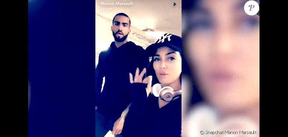 Manon Marsault et Pierre Abena complices à Los Angeles, décembre 2016
