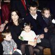 Mary de Danemark et son mari le prince Frederik, avec leurs enfants Christian et Isabella