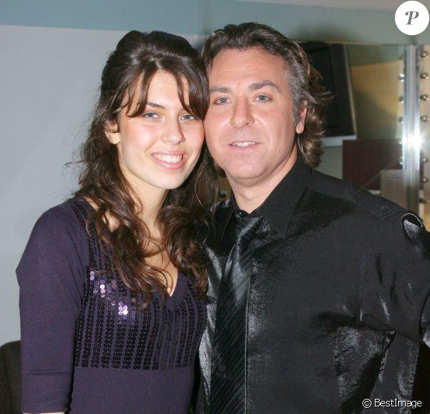 Roberto Alagna et sa fille Ornella en 2009 à l'Olympia