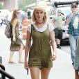 Taylor Swift quitte son appartement de Tribeca à New York City, New York , Etats-Unis, le 31 août 2016.