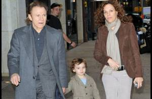 PHOTOS : Le grand Harvey Keitel... Noël en famille à New York avant l'heure !