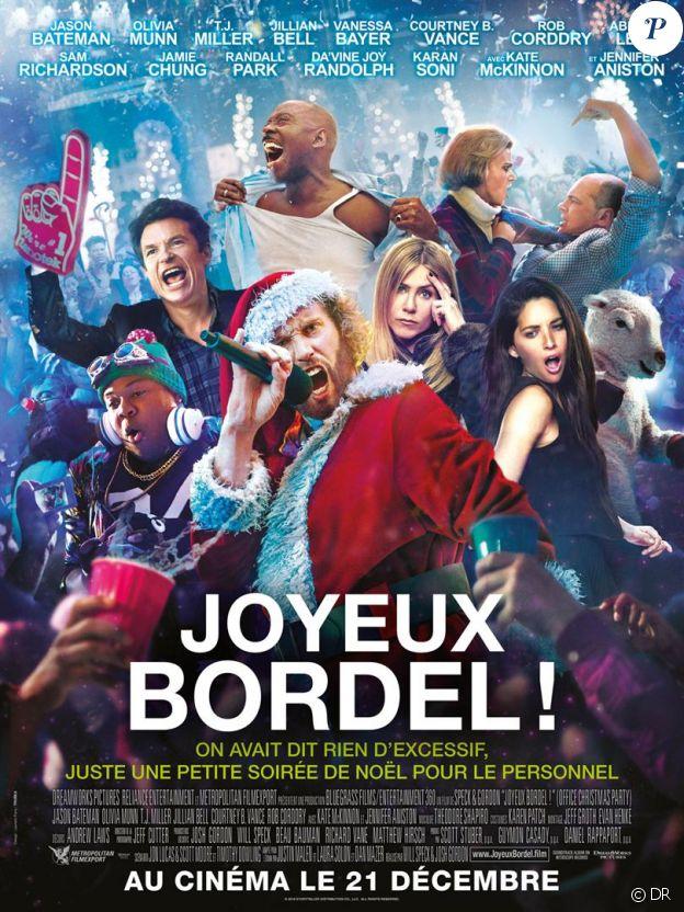 Affiche du film Joyeux bordel, en salles le 21 décembre 2016