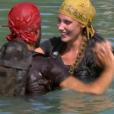 """Benoît et Jesta - Finale de """"Koh-Lanta, L'île au trésor"""". Sur TF1, le 9 décembre 2016."""