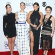 Troian Bellisario, Lucy Hale, Shay Mitchell et Ashley Benson - Press room des People Choice Awards 2016 à Los Angeles le 6 janvier 2015.